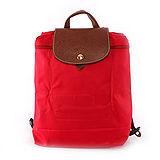 【LONGCHAMP】後背包 (深莓紅)