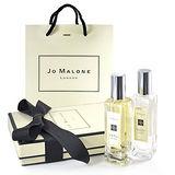 Jo Malone 經典香水系列30ml 2入禮盒組-英國梨+伯爵茶 (含2入裝外盒、緞帶、提袋)