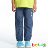 bossini男童-牛仔束口褲04深靛藍