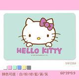 【三麗鷗獨家授權】Hello Kitty珪藻土吸水地墊 /彩印-經典哈羅