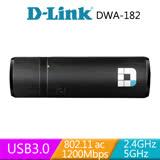 D-LINK DWA-182 Wireless AC1200雙頻USB 無線網卡