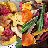 【愛上新鮮】綜合水果脆片、綜合野菜脆片任選4包