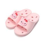 (中大童) 巧寶可愛動物排水拖鞋 粉 鞋全家福