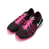 (男) NIKE W DUAL FUSION TR HIT PRINT 輕量訓練鞋 黑桃 844667-001 鞋全家福