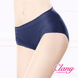 【可蘭霓Clany】健康抑菌竹炭中腰M-XL無痕內褲 深海藍 2156-550
