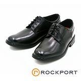 Rockport 全防水系列ESSENTIAL DETAILS II素面綁帶皮鞋-黑