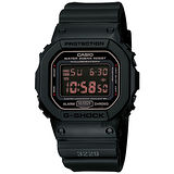CASIO 卡西歐 G-SHOCK 軍事經典腕錶 DW-5600MS-1HDR