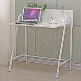 AT HOME-米羅2.8尺白色書桌