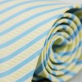 【雅派Alpaca】黃藍斜紋領帶(品特)