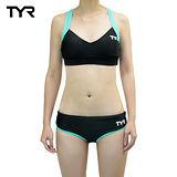 美國TYR女用修身兩件式泳裝V-Neck Open Back w 台灣總代理