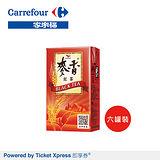 家樂福即享券統一麥香紅茶250ml x6罐裝(電子禮券)