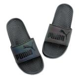 PUMA 男/女鞋 拖鞋 黑 36345101