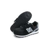 New Balance 中童鞋 經典復古鞋 黑灰 KV574CUY