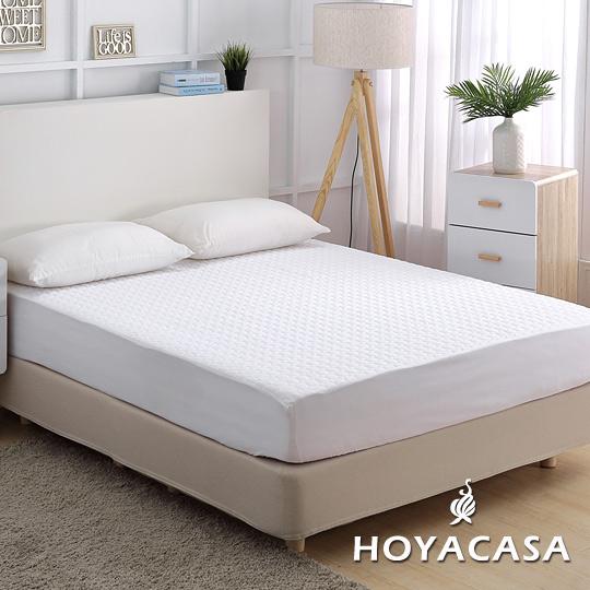 HOYACASA《極淨睡眠》雙人全包覆式抗菌保潔墊
