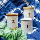 【Homely Zakka】日系琺瑯儲物罐/輕食水果罐-任選(買再送小鴨瀝水餐盤)