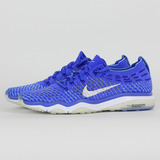 NIKE 女 W AIR ZOOM FEARLESS FLYKNIT 慢跑鞋 藍 850426400