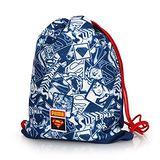 (童) PUMA WB兒超人束口袋-後背包 收納袋 SUPERMAN 藍白紅 F