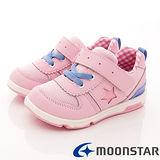 日本Carrot機能童鞋- 美式運動機能款- C21654粉-(15cm-20cm)