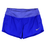 NIKE 女 AS W NK FLX SHORT 3IN RIVAL 短褲 藍 719583452