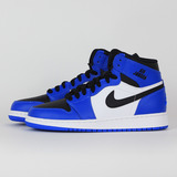 NIKE 大童 AIR JORDAN 1 RETRO HIGH BG 休閒鞋 藍 705300400