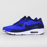 NIKE 男 AIR MAX 90 ULTRA 2.0 ESSENTIAL 休閒鞋 藍 875695400