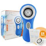 (盒損良品)Clarisonic 科萊麗 超音波洗臉機 Mia2 藍色(加碼送敏感刷頭*1+冰河保濕潔面乳150ML)