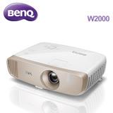 ★微電影推薦款★BenQ W2000 明基 側投導演機 投影機 符合Rec. 709 原廠公司貨