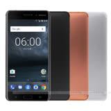 Nokia 6 金屬機身5.5吋八核4G/32G 雙卡雙待智慧手機 LTE -加送螢幕保護貼