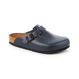 勃肯BIRKENSTOCK 060151。BOSTON波斯頓 包頭拖鞋(深藍)