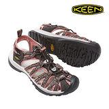 KEEN 織帶涼鞋Whisper 1016244《女款》/ 城市綠洲 (水陸兩用、編繩結構、輕量、戶外休閒鞋、運動涼鞋)