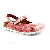 ALPRO 105123。C165 繞踝包頭拖鞋(粉色文字)