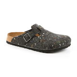 勃肯Papillio 226371。BOSTON 波斯頓 包頭拖鞋(深灰)