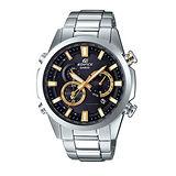 【CASIO 卡西歐】EDIFICE 金星風暴 太陽能電波時尚腕錶(44mm/EQW-T640YD-1A9)