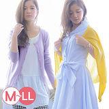 日本Portcros 預購-百搭素色針織外套-U領款(M-LL共十色)
