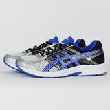 ASICS 男 GEL-CONTEND 4 (4E) 慢跑鞋 灰藍 T716N9342