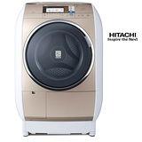 【結帳優惠價】日立13公斤蒸氣風熨斗洗脫烘滾筒洗衣機SFBD3900T