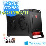 msi微星 Nightblade X2B-203TW i7-6700 GTX960 WIN10 電競桌機