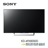 SONY KD-49X8000D 4K 高畫質液晶電視 (日本製) 公司貨
