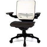 aaronation 愛倫國度 - 線控底盤人體工學椅JQ-D6B-黑網-尼龍腳