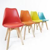 優力格家具-彩虹歐風高質感餐椅/洽談椅/休閒椅/書桌椅 7色