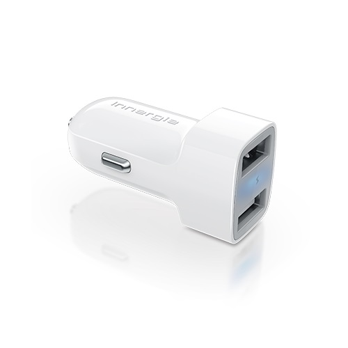 【Innergie台達電】PowerJoy Go Pro 24 24瓦智能雙USB極速車充