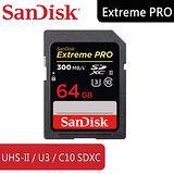 SANDISK ExtremePro SDXC 64G USH-II / U3 /C10 - 6114.XPK64.322