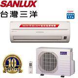 SANLUX台灣三洋 4-6坪(精品型)分離式一對一冷暖變頻冷氣 SAC/E-28VH6(涼夏送好禮三選一)