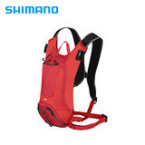 SHIMANO UNZEN 登山車後背包-無水袋 2L 赤紅