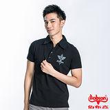 BOBSON 男款合身版POLO短袖上衣(黑23031-88)