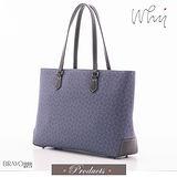 【WHY】經典LOGO紋款精緻造型手提包