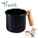 Truvii 經典黑木柄琺瑯杯 250ml