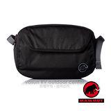 【瑞士 MAMMUT 長毛象】Add-on Chest Bag 快拆式胸前包(可當腰包/附防雨罩) 登山胸前袋.外掛登山背包.自助旅行00091-0001黑