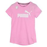 PUMA 女 基本系列NO.1 LOGO短袖T恤(F) 紅 59299205