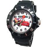 【迪士尼】Cars帥氣閃電麥坤運動彩帶手錶